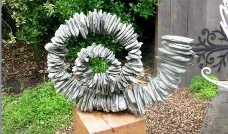 Садовые скульптуры, украшаем свою дачу фигурками... креативные фигуры из камня для сада