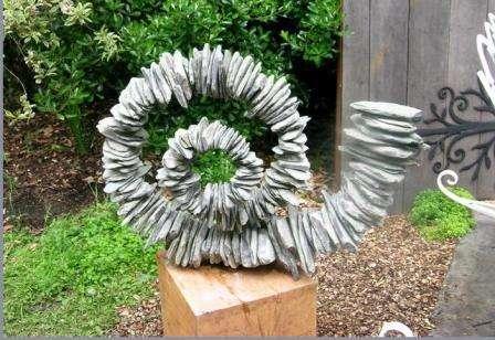 Садовые скульптуры, украшаем свою дачу фигурками...