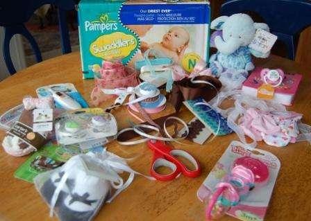 Для новорожденных подарок своими руками