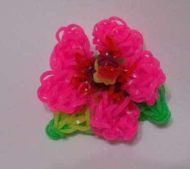Плетём цветы из резинок. Видео, способы плетения