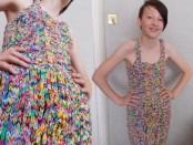 Одежда из резинок rainbow loom фото