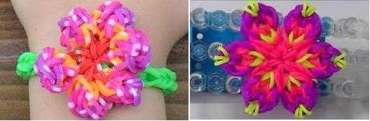 Плетём разные браслеты из резинок