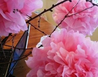 Цветы из папирусной бумаги своими руками