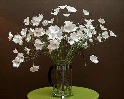 Цветы из бумаги своими руками, схема пошагово