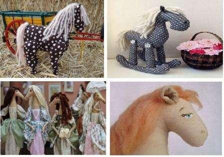 Как сшить Тильду лошадь, мастер класс с фото и выкройками