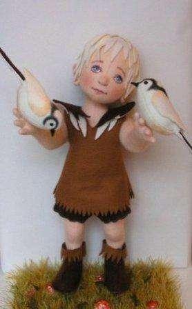 Получилась кукла из коллекции Helen Priem, которая отличается сказочным внешним видом.