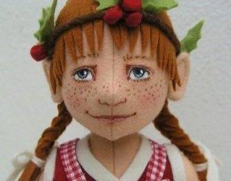 Поделки из фетра, куклы своими руками