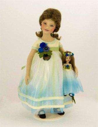 Идеи для вдохновения – куклы из фетра Мэгги Иаконо