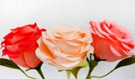 Сделать своими руками цветы розы фото 497