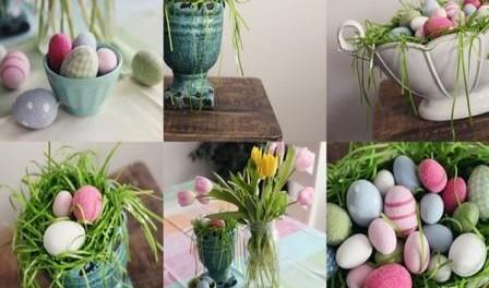 Украшение пасхальных яиц своими руками, фото подборка