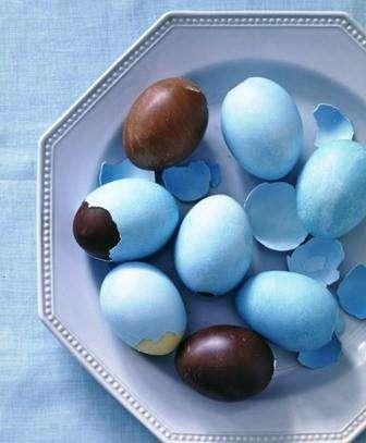 Шоколадные яички