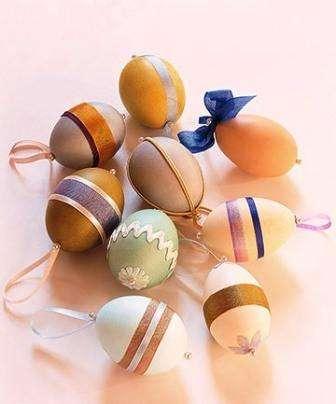 Самые интересные варианты оформления яиц на пасху