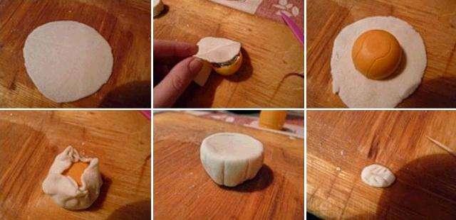 Теперь опишем, как нужно делать поделки из соленого теста: