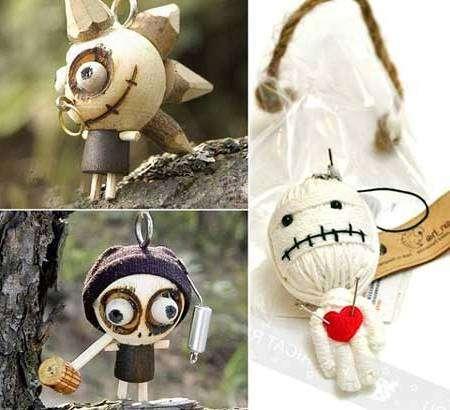 Куклы вуду - поделки