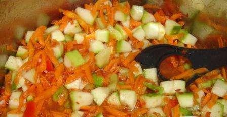 Заготовки на зиму рецепты салатов из овощей: перец, кабачки