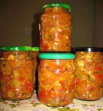 салат кабачки на зиму рецепты