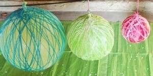 Приготовьте помещение, в котором будут сохнуть поделки. Оно должно быть сухим и неосвещаемым, там и оставляем шарики на сутки.