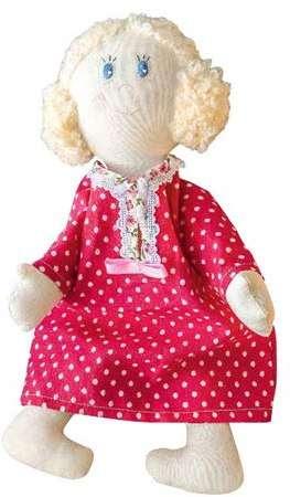 шьем тряпичную куклу из обычной ткани и батиста