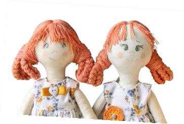 Тряпичная кукла своими руками. Выкройки, мастер класс