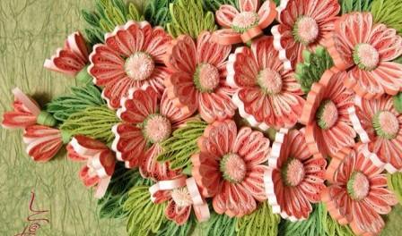 Квилинговые поделки с фото и мастер классом. Цветы