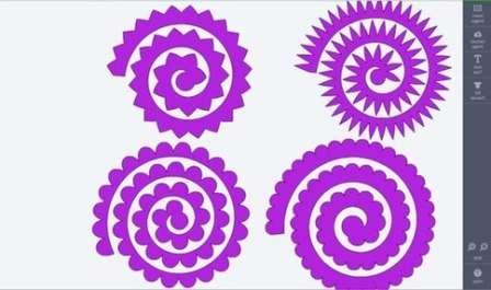 Найдите спиралевидные шаблоны в интернете или нарисуйте их самостоятельно. Это может быть обычная спираль или спираль с волнистым краем. Перенесите шаблон на подготовленную плотную бумагу и обведите его карандашом.