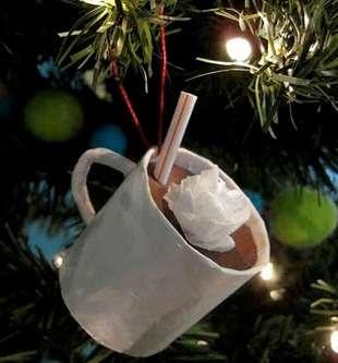 Делаем игрушки на елку из бумаги своими руками в садик