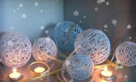 Новогодняя игрушка своими руками из воздушного шарика фото 278