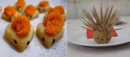 Поделки из картошки можно сделать во время участия в каком-то конкурсе, например, Мисс Осень или Весна. Чем больше развита ваша фантазия, тем более оригинальные блюда из картошки вы можете приготовить.