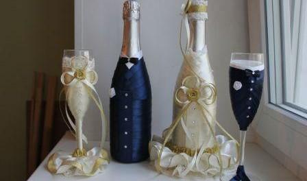 Свадебные украшения сделанные своими руками фото 980