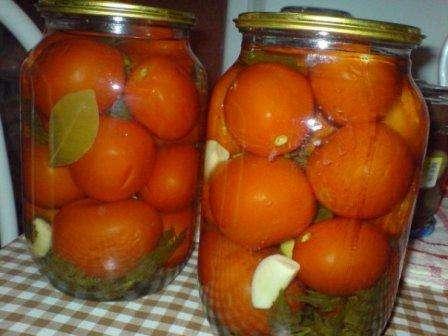 Консервирование помидор на зиму рецепт