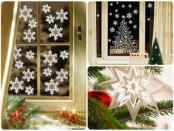 Спонсоры новогоднего настроения: объемные снежинки