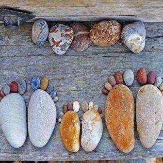 Фигурки из камней своими руками
