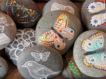 Картины из камней своими руками