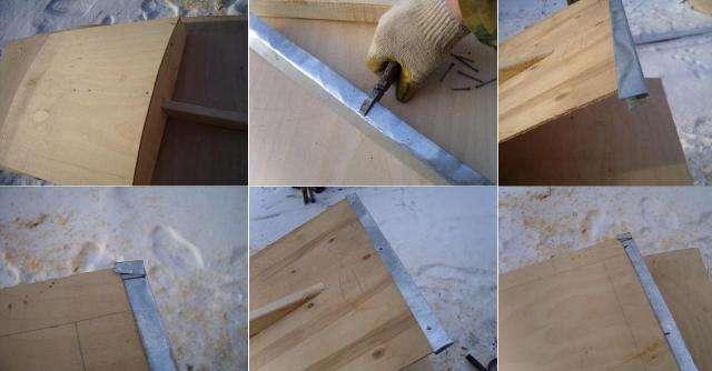 Снегоуборочная деревянная лопата своими руками