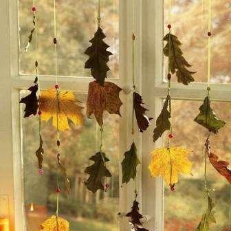 поделки из кленовых листьев своими руками