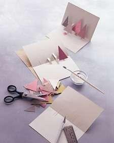 Идея № 8. Новогодние открытки с 3D эффектом