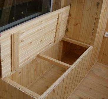 Ящик для овощей на балконе, как сделать своими руками.
