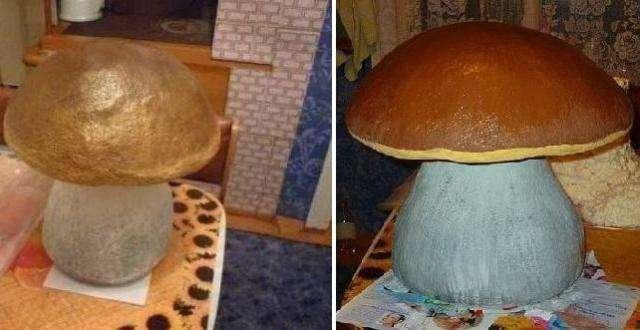 Большой грибок своими руками