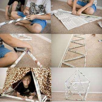 Как построить шалаш своими руками детям, фото