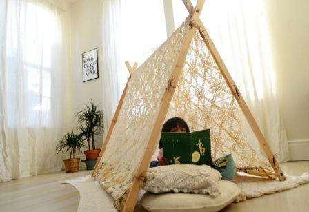 шалаш для ребенка в квартире