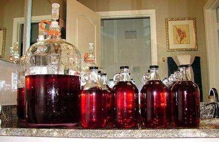 быстрое приготовления вина в домашних условиях