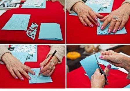 Как сложить снежинки из бумаги своими руками