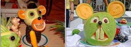 Поделки из фруктов с ребенком