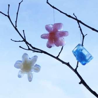 поделки из льда своими руками фото