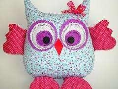 Декоративные подушки совы своими руками. Фото, мастер-класс