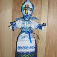 Куклу Мотанку также можно изготовить и из ткани!