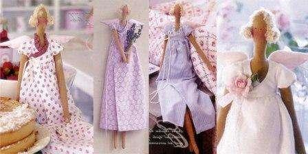Текстильная кукла Тильда, пошаговая инструкция к выполнению