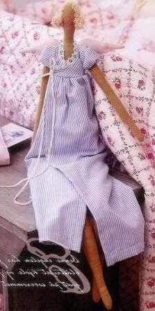 Выкройка куклы Тильды «Винтажный Ангел»;