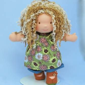 Вальдорфская кукла. Выкройки с размерами, мастер-класс, фото