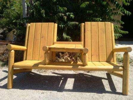 Проявите фантазию и придайте каждому такому садовому креслу интересную форму